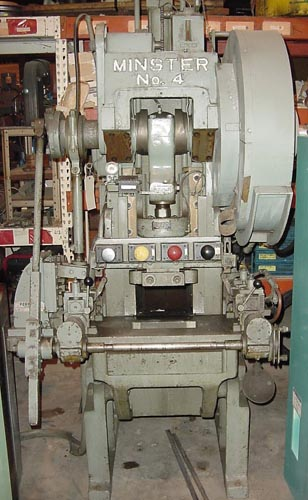 "35 Ton, MINSTER, #4, 2"" STR., 50-400 SPM VARI SPEED, AC/AB, 1963"