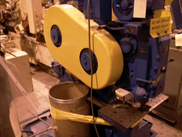 66 TON MECHANICAL IRONWORKER, WITH PUNCH, ANGLE SHEAR, FLAT SHEAR, BAR/SQUARE SHEAR, AND NOTHCHER