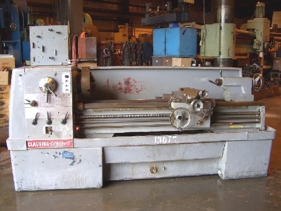 "17"" x 60"" CLAUSING COLCHESTER, 3"" BORE, 1600 RPM, 10 HP, 14"" 3-JAW, IN/MM, TAPER ATTACH, 1970"