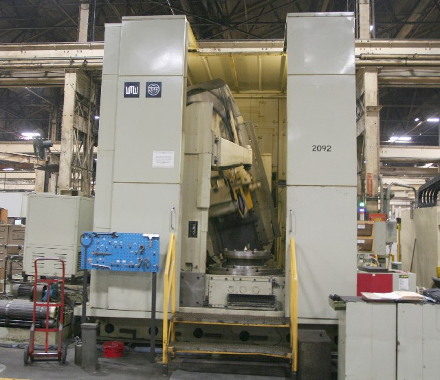 "ZSTZ-12 NILES, 49"" DIA., 16"" BORE,  40'"" TABLE, 30"" STROKE,  CHANGE GEARS, EXCELLENT CONDITION 1989"