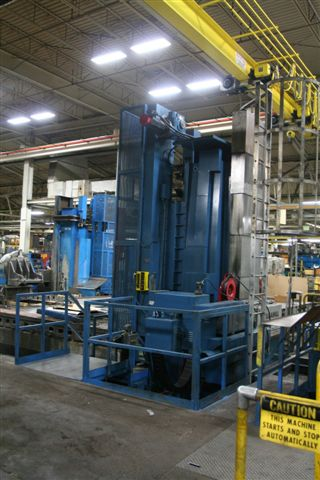 "BUTLER ELGA RAM CNC FLOOR BAR, 98"" VERT, 354"" X, 41"" Z, FANUC 18M, 60 ATC, 50 TAPER, 2100 RPM, THRU SPINDLE/FLOOD COOLANT"