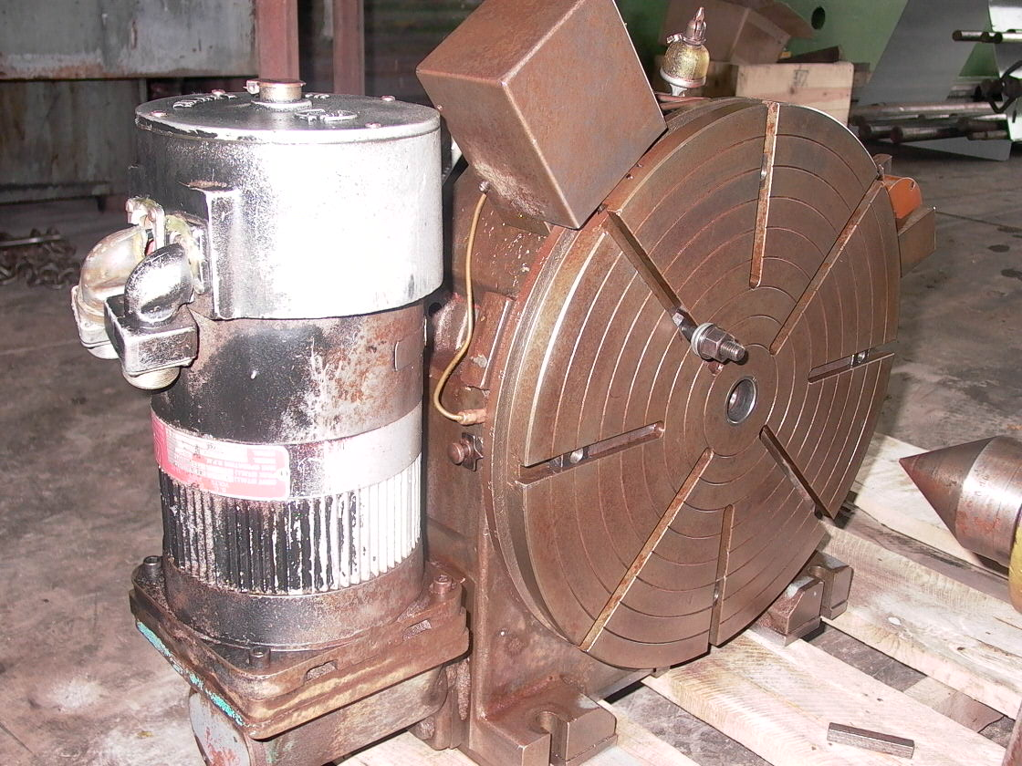 "20"" TROYKE NC ROTARY INDEXER, HORIZONTAL, TAILSTOCK, 1980"