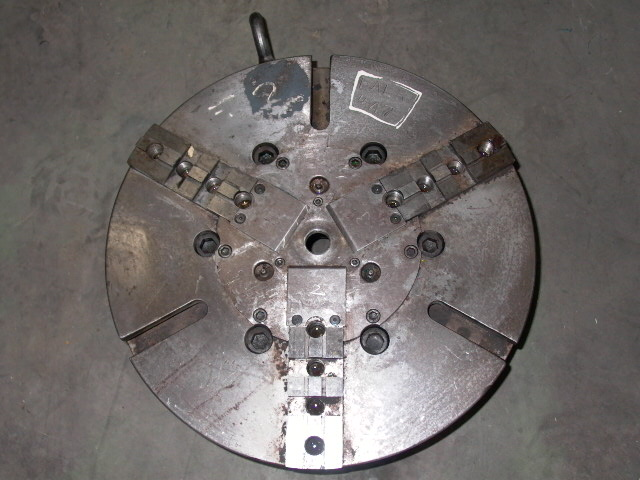 18 INCH 3-JAW CHUCK, POWER