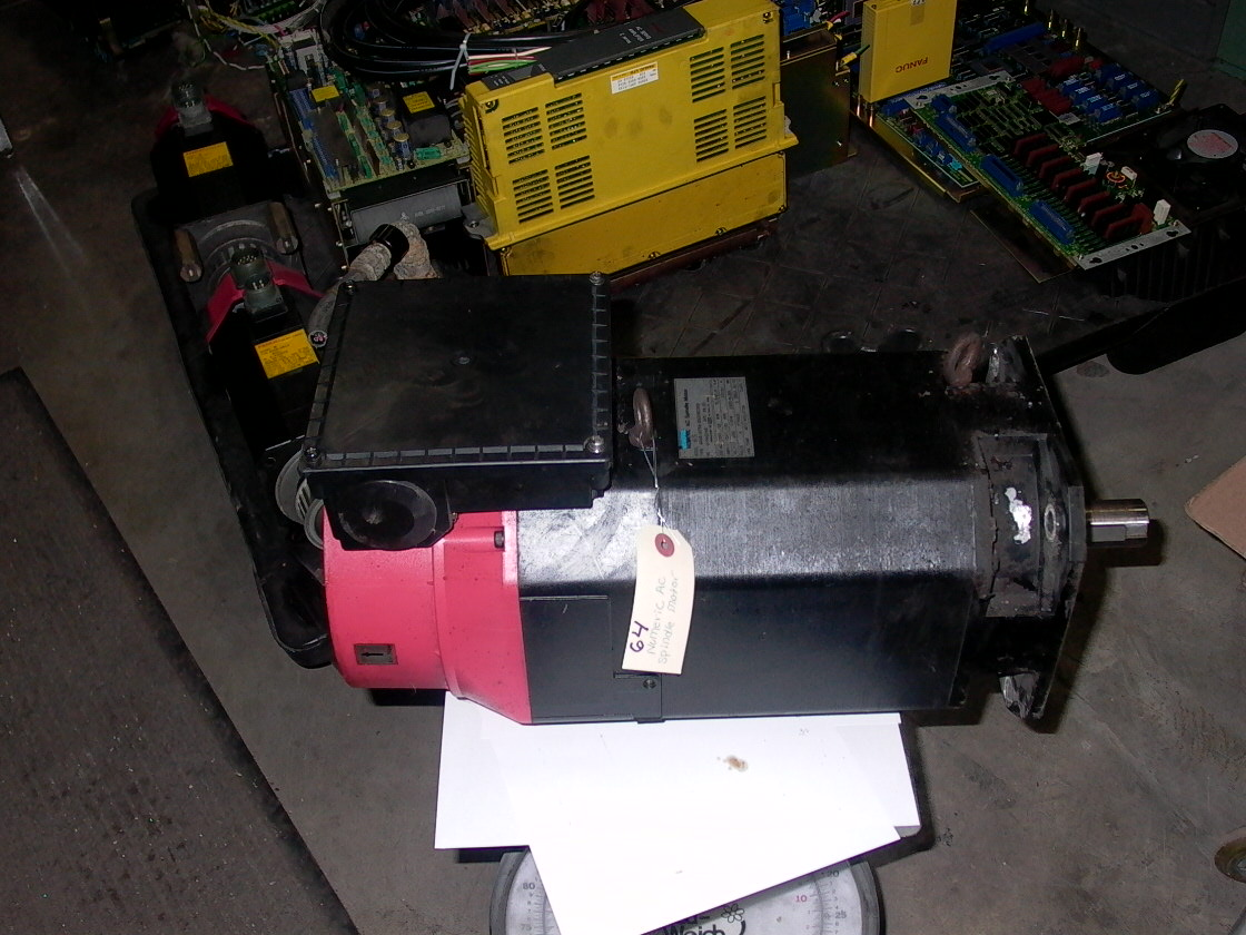 NUMERIC AC SPINDLE MOTOR, MODEL 65, 125 LBS, 1989