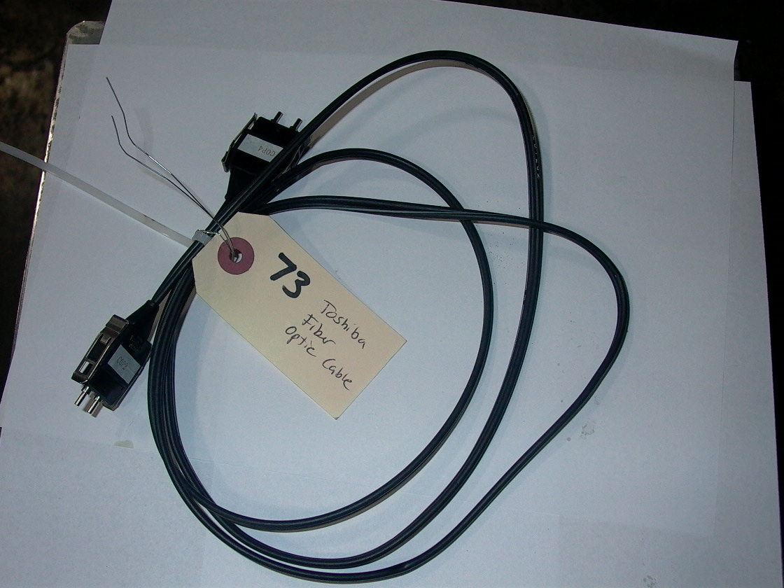 TOSHIBA FIBER OPTIC CABLE