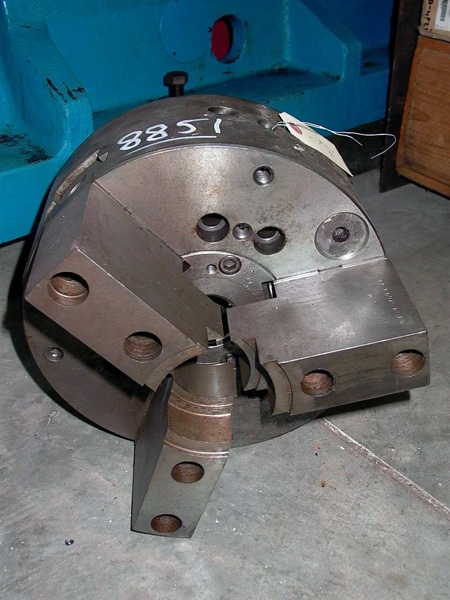 12 IN. 3-JAW MANUAL/POWER CHUCK WITH TUBE - MODIFIED