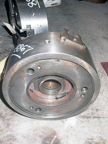 10 INCH AUTOBLOK 3 JAW POWER CHUCK, 250 HML-3