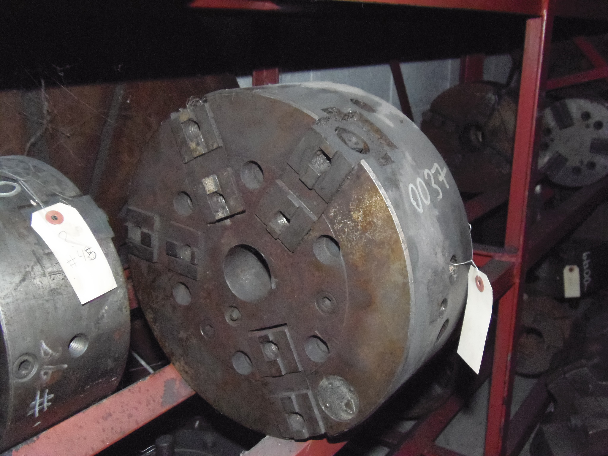 12 INCH A2-8 AUTOBLOCK, 3 JAW POWER CHUCK