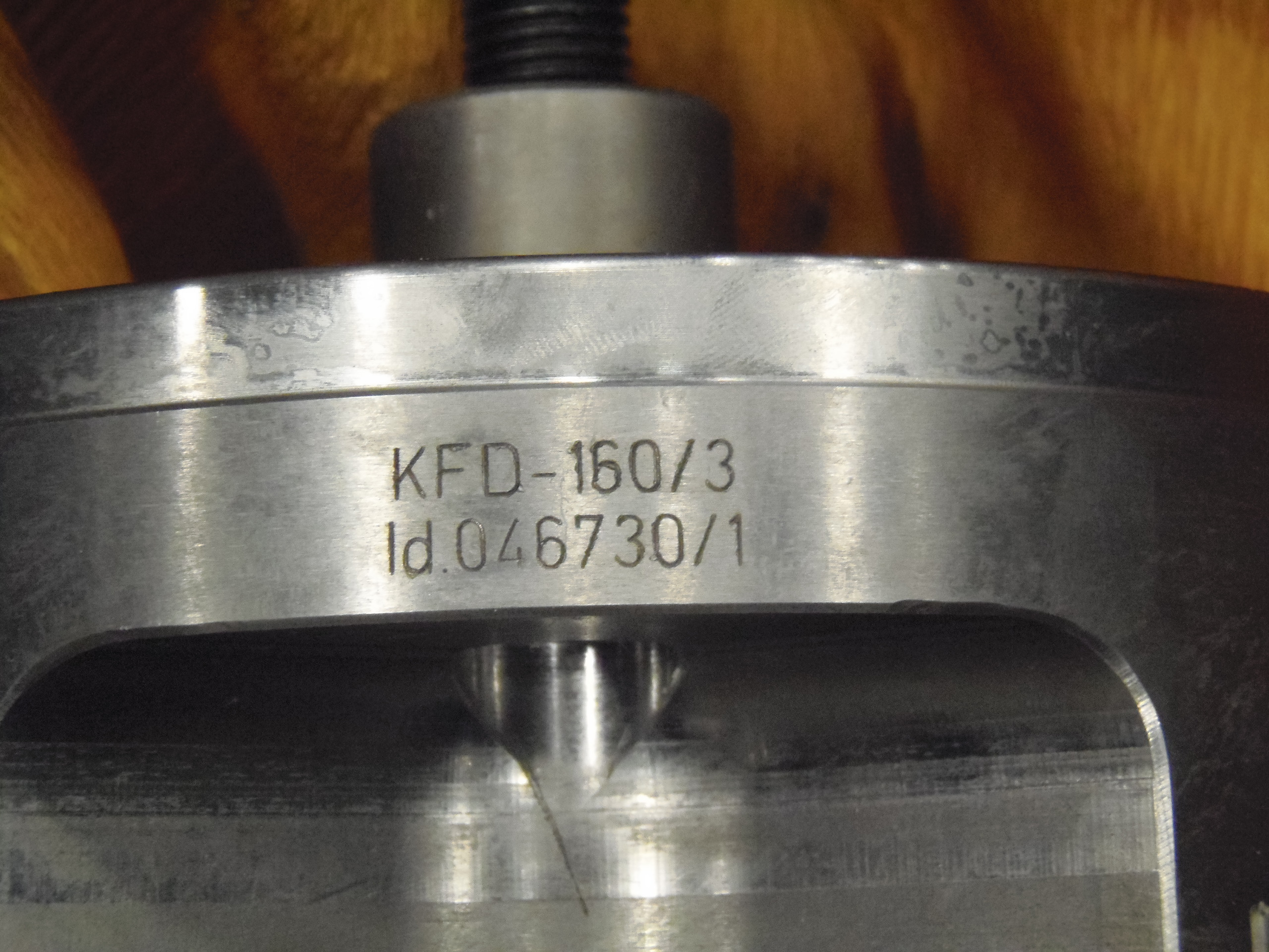 "6.5"" ROHM UNUSED KFD, ITEM 46730, 3 JAW POWER CHUCK"