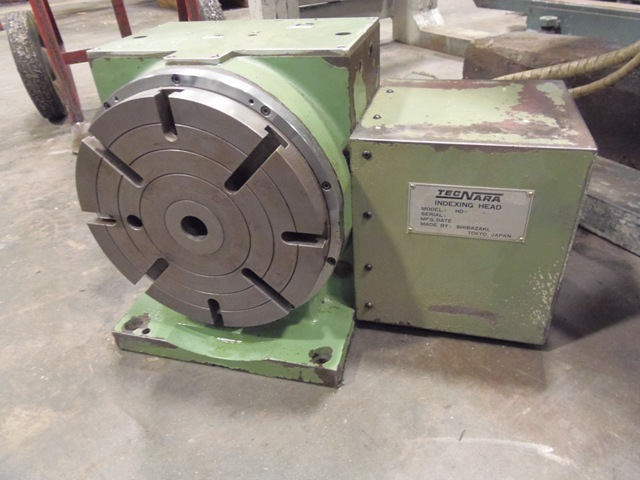"ROTARY TABLE-INDEXER, 9"" DIAMETER, MMK - TECNARA, MODEL HD-230 1R, S S PRECISION CONTROL, 1986"