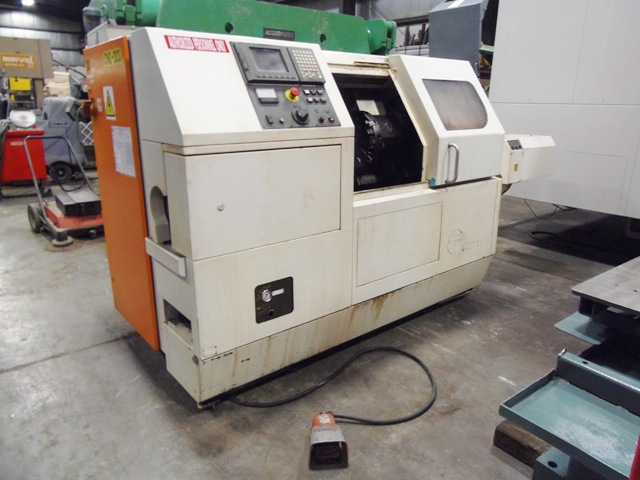 CLAUSING STORM A 50, 4000 RPM, GE FANUC 21iT, 5 HP, 12 STATION TURRET, 1998