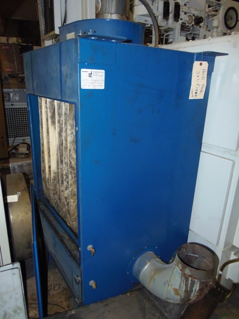 1000 CFM, TORIT, NO. MC1000, MIST COLLECTOR, 2 STAGE, 3 HP