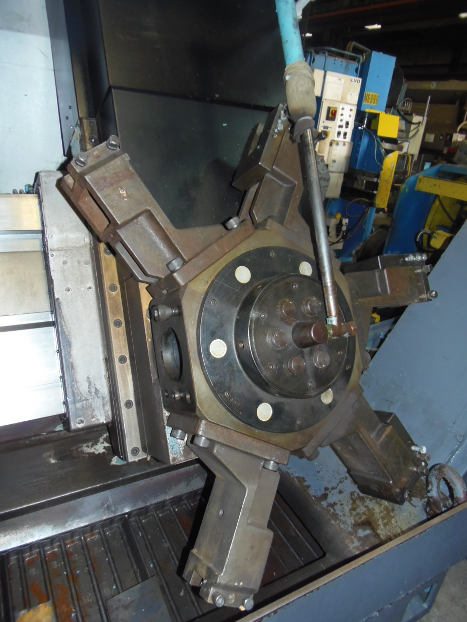 "MORI SEIKI SL-8, 80/98, FANUC 21iT CONTROL, 39.3"" SWING, 32"" 4 JAW CHUCK, 43"" Z, 10.25"" HOLE, 4 - 553 RPM"