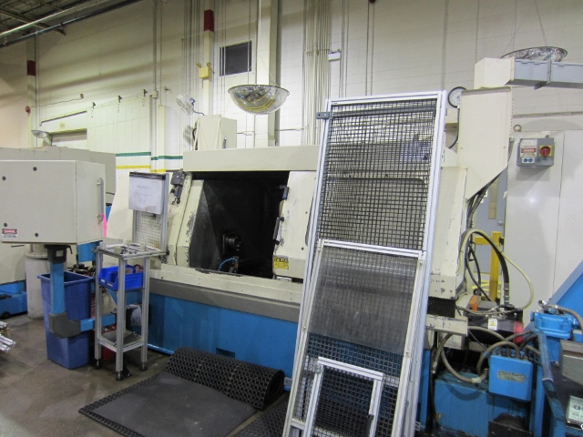 "22"" X 43"" SENECA FALLS, MODEL EW75, 2 HEAD, FANUC POWER MATE CONTROL, 2001, 25 HP, 10 - 1150 RPM, ADDITIONAL MILLING MACHINE, 2001"
