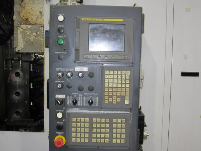 "ENSHU MODEL JE30S, FANUC 21i-MB CONTROL, 12.5"" PALLETS, 4TH AXIS, 14 X 20 X 12 TRAVELS, 13,000 RPM, 2004"