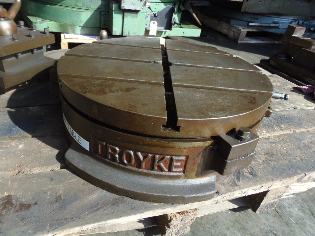 "21"" TROYKE ROTARY INDEXER, MODEL B-H-21, HORIZONTAL-VERTICAL"
