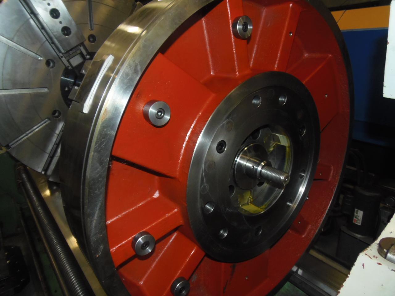 """32"""" SEOAM CAS-32 UNUSED 3-JAW HYDRAULIC POWER CHUCK"""