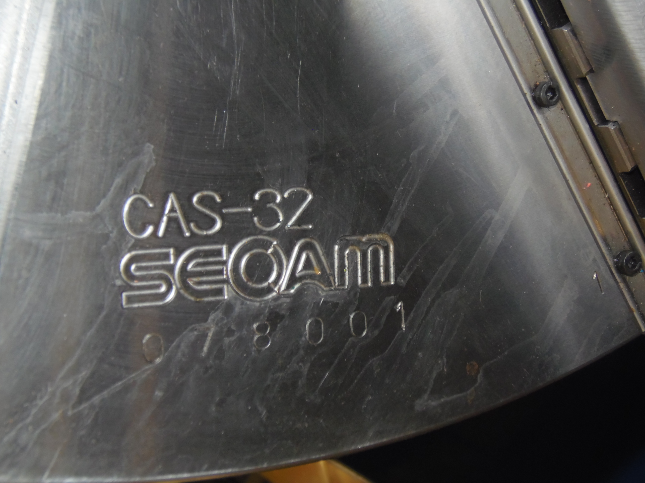 "32"" SEOAM CAS-32 UNUSED 3-JAW HYDRAULIC POWER CHUCK"