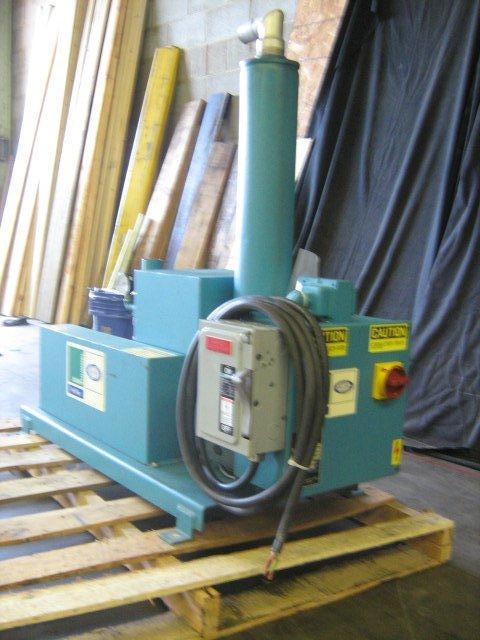 Una-Dyn 5hp Resin Vacuum Pump, 460V, Yr. 1998
