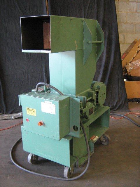 "Cumberland 1-UC Gran 2KN Granulator, 9"" x 10"", 7.5 hp, 460V"