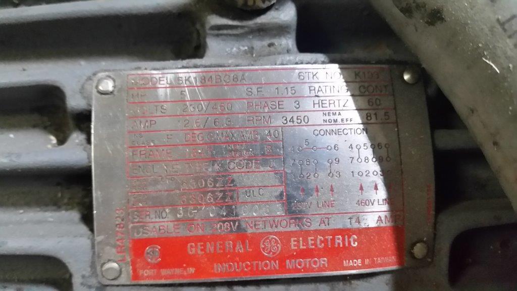 "Hydraclaim Granulator for Blown Film, 10 x 20"", 40 hp, 460V"