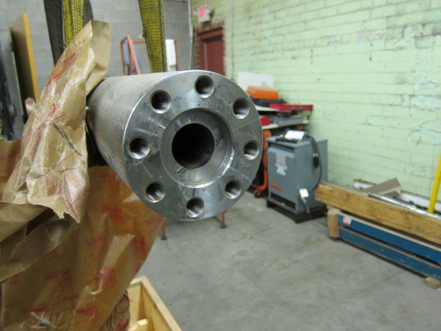 Nissei 50 mm/50E Screw, Barrel, Valve and End Cap Assembly
