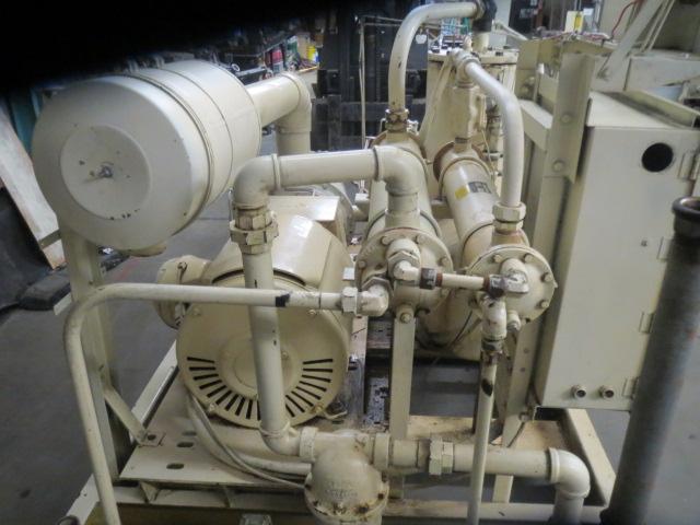 Sullair 20-100H-WCAC Air Compressor, 100hp, 460V