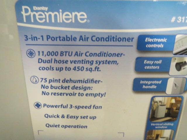 Premier DPAC11010 Portable A/C Unit, 110V