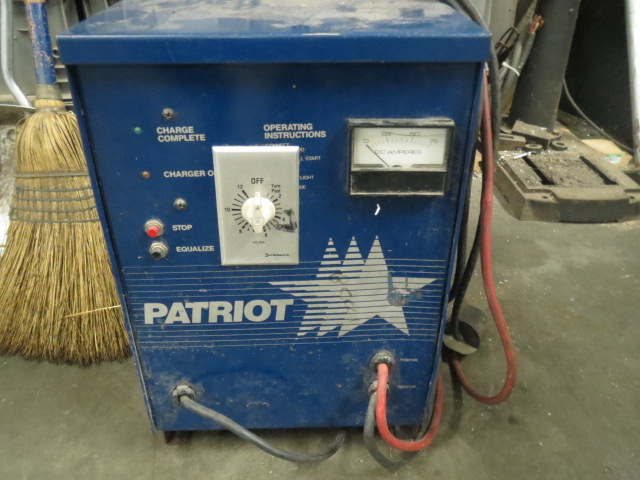 Patriot Battery Charger, 24/60 DC volts, 12 cells