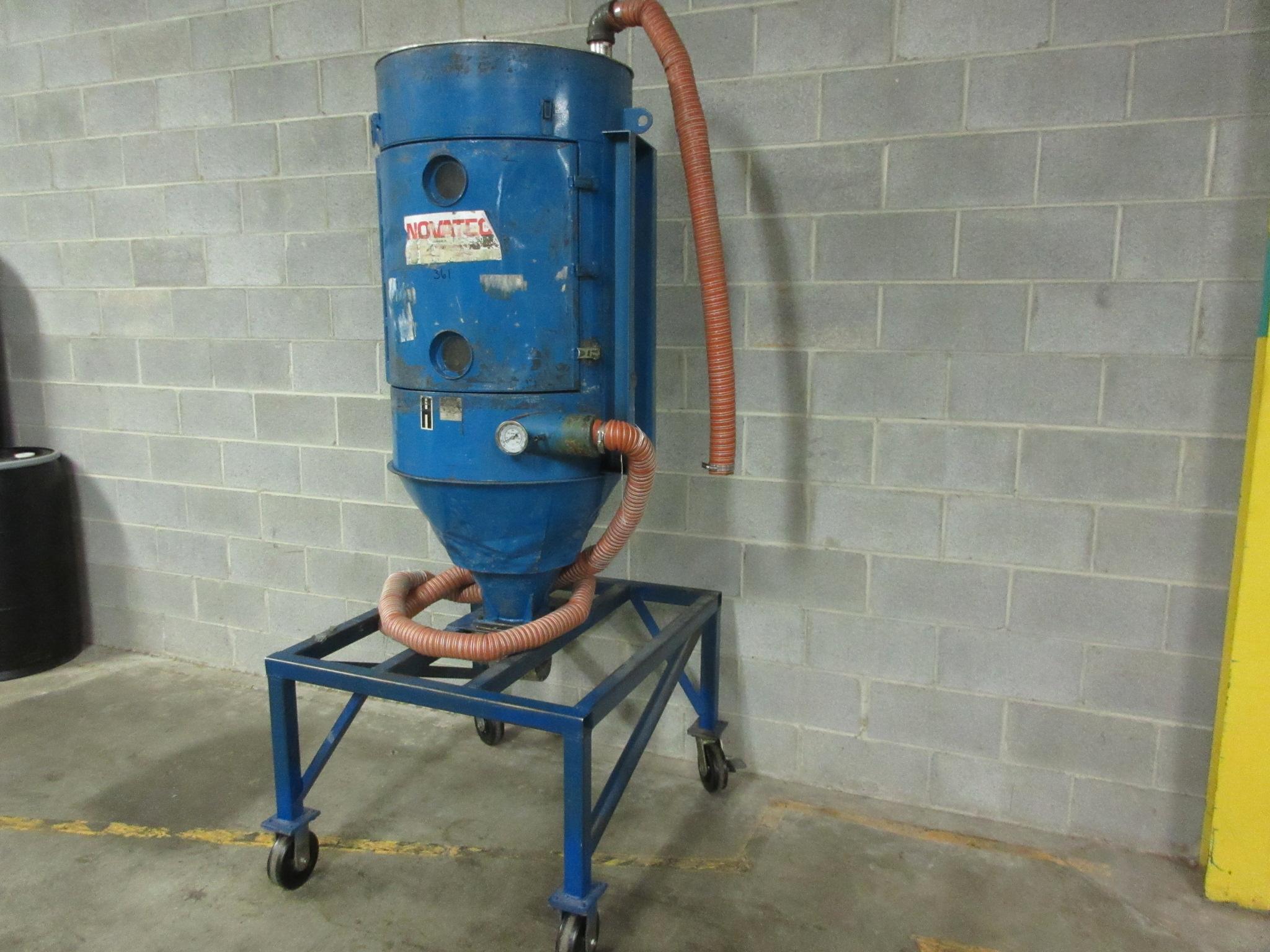 Novatec 300 lb Material Drying Hopper