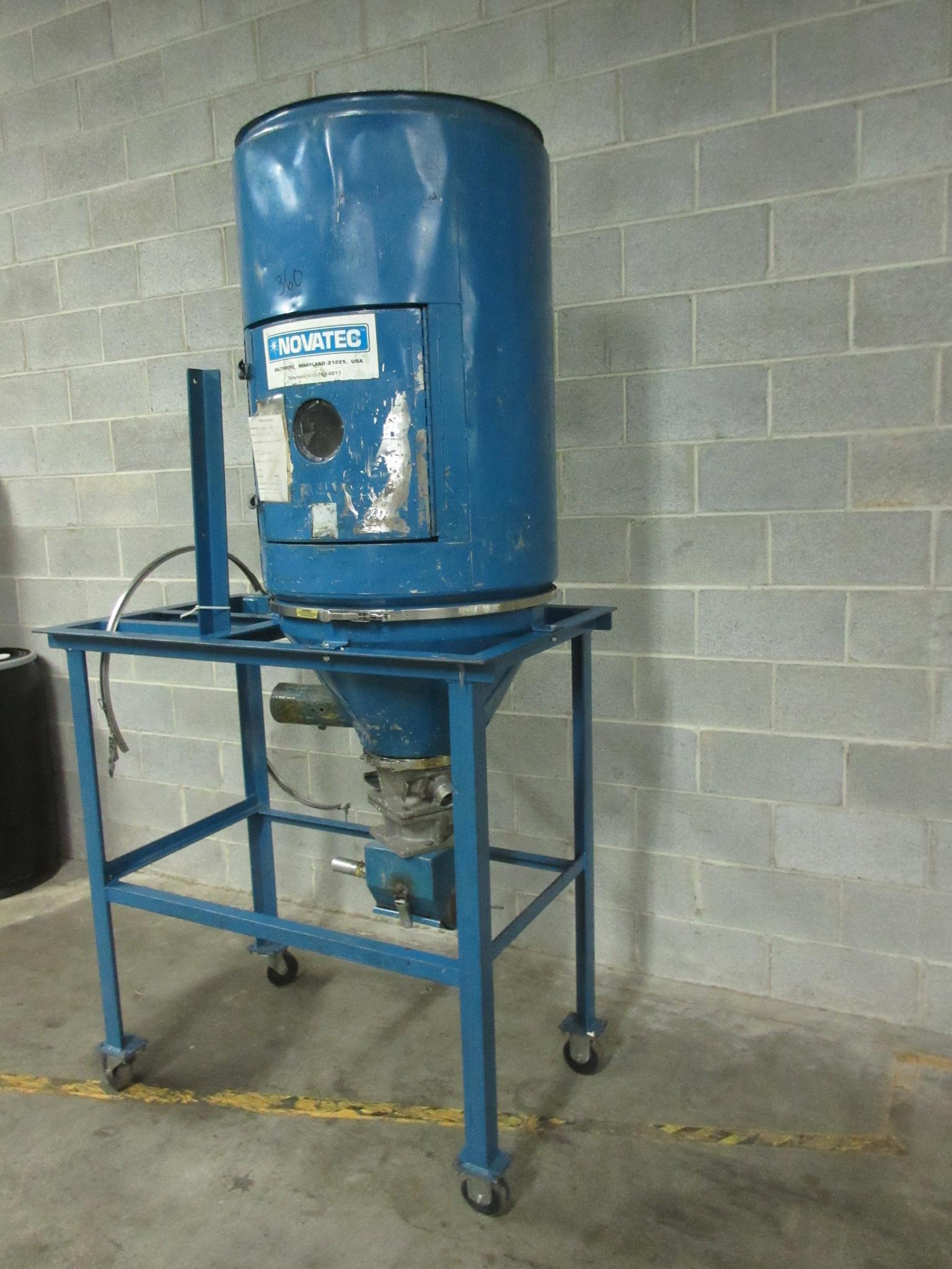 Novatec 300 lb. Material Drying Hopper