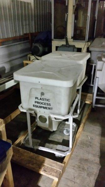 PPE Portable Plastic Bins, 150 lbs. Capacity