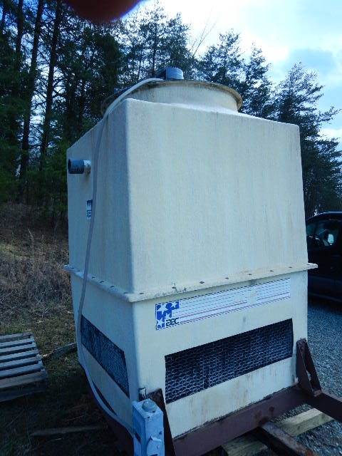 AEC 50 Ton Fiberglass Cooling Tower, 5 hp fan, 460V, Yr. 2004