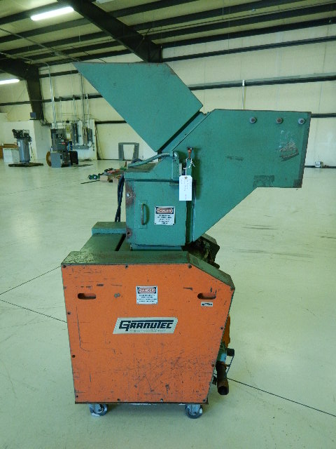Granutec TFG 1012 Used Granulator, 10x12, 7.5 hp, 460V