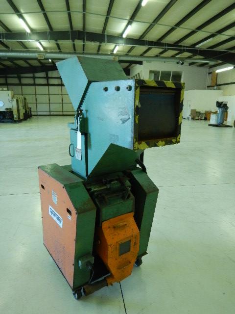Granutec TFG 1012 Used Granulator, 10x12, 7.5 hp, 460V Dual Feed  for Sprue Picker