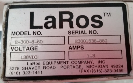 """LaRos Flat Beld Conveyor; Qty. 3 Available; 7"""" wide X 4' 10"""" long"""