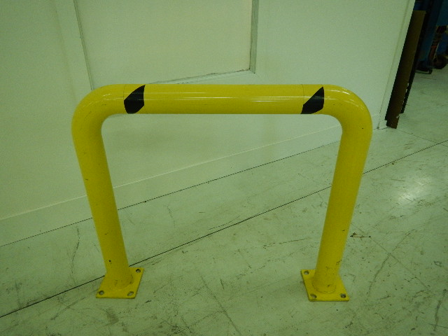 "5"" Steel Safety Rails, 42 x45, Mounting Flange"