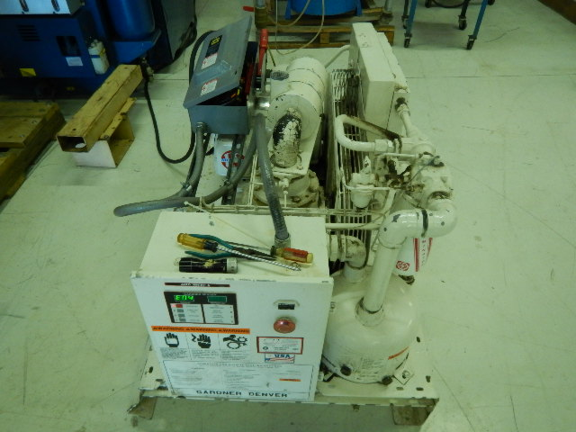 Gardner Denver 25hp Compressor, Air Cooled, 25hp, Yr. 1997, 460V