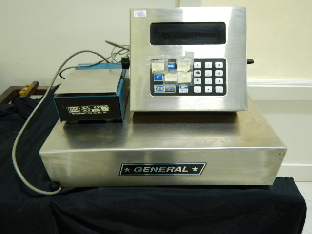 General Scale Systems 570 Parts Scale, 110V, 2# max on parts, 100# on scale