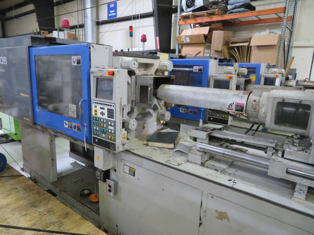Sumitomo SE100S Used All Electric Injection Molding Machine, 100 ton, Yr. 2000, 4.8 oz.