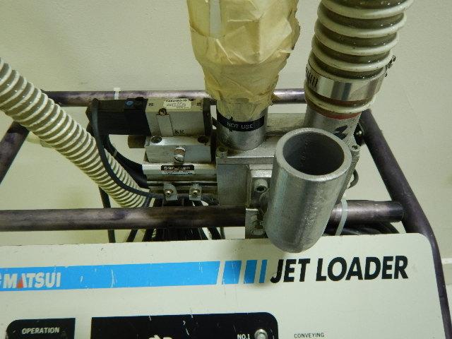 Matsui JL-4VII Jet Loader, Yr. 2000, 208V, 1.1 hp, approx 800 lb/hr