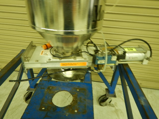 "Motan SB50-A-251CD Vacuum Receiver, Stainless Steel, 120V, 2.5"", 50 liter, Approx 60 lb Capacity, Yr. 1996"