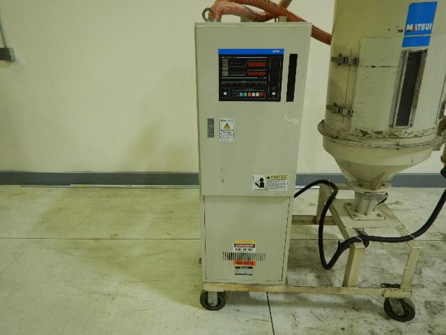 Matsui DMZ80 Dryer, Used Rotary Desiccant, Approx 75 lb/hr, Yr. 1999, 460V NO HOPPER
