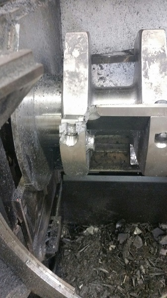 Conair CGW-1418 Granulator, 460V - Parts Only Granulator