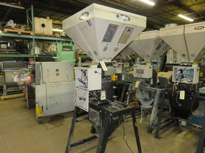 Sterling / AEC SGBD-500-4Gravimetric Blender, Approx 500 lb/hr, Yr. 2006