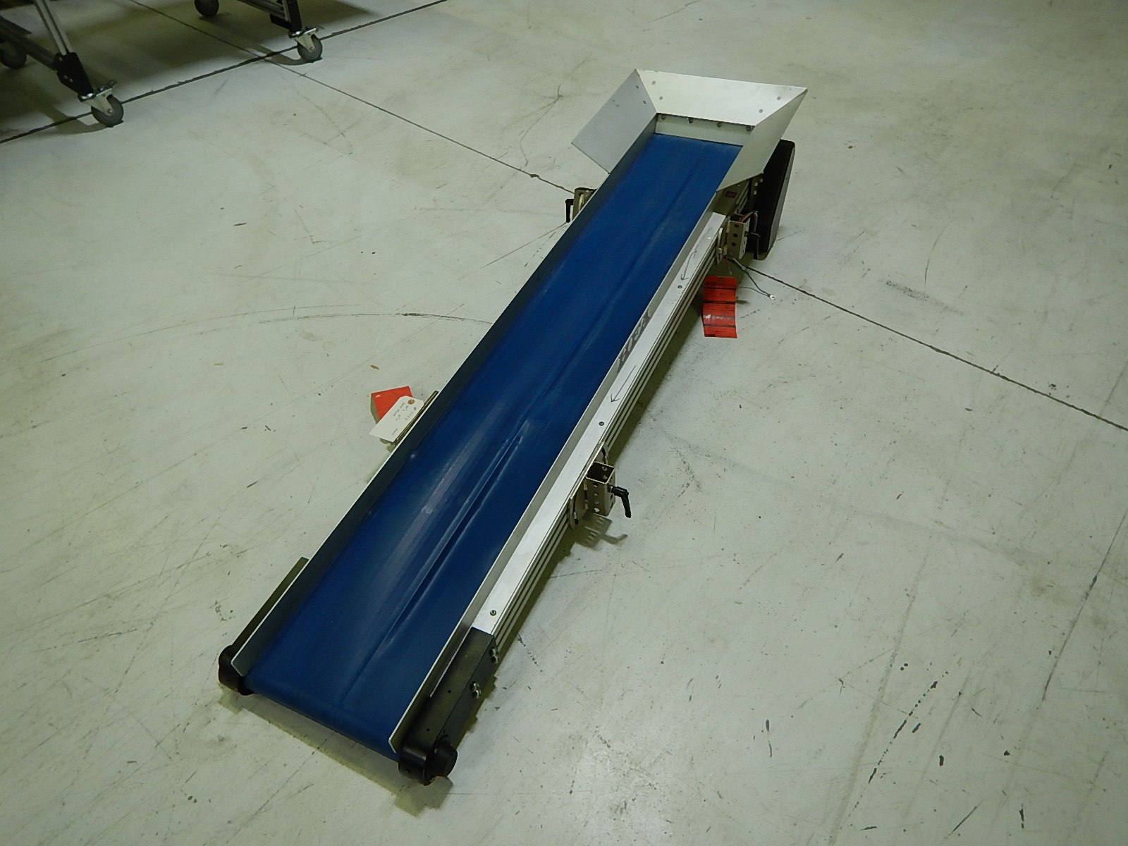 HFA 2210 Conveyor, Horizontal Style, 74 in. long x 12 in. wide, 110V, Yr. 2009