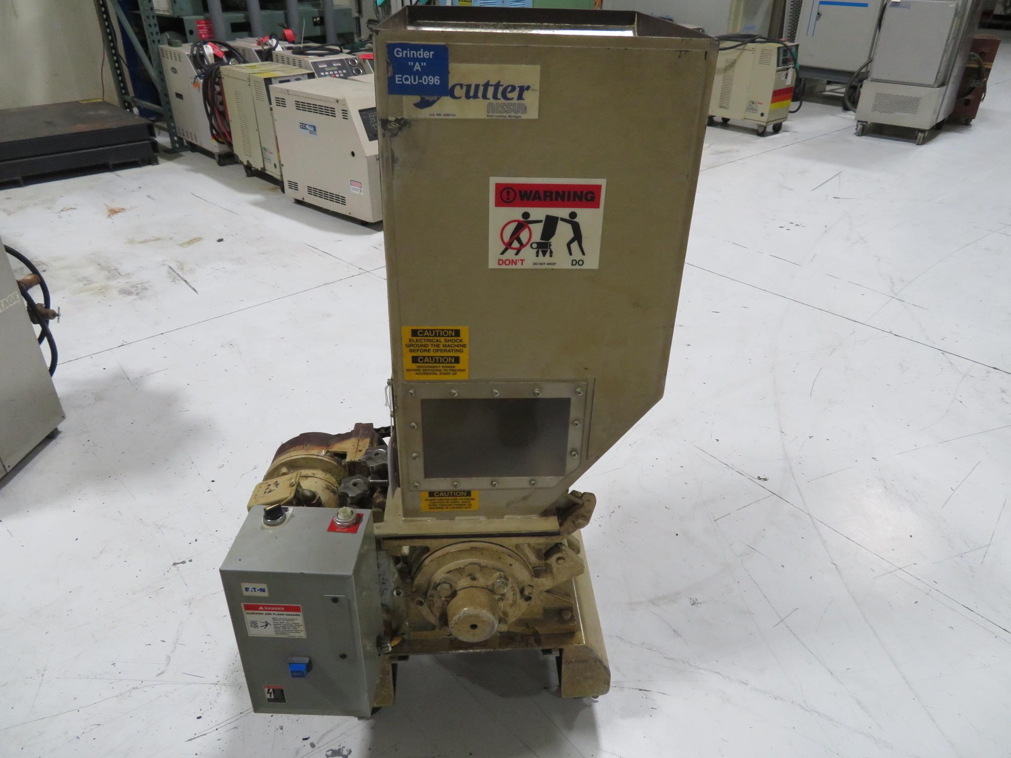 "Nissui FNSK-04E Used Granulator, 19"" x 16"", 1hp, 460V, Yr. 1993"
