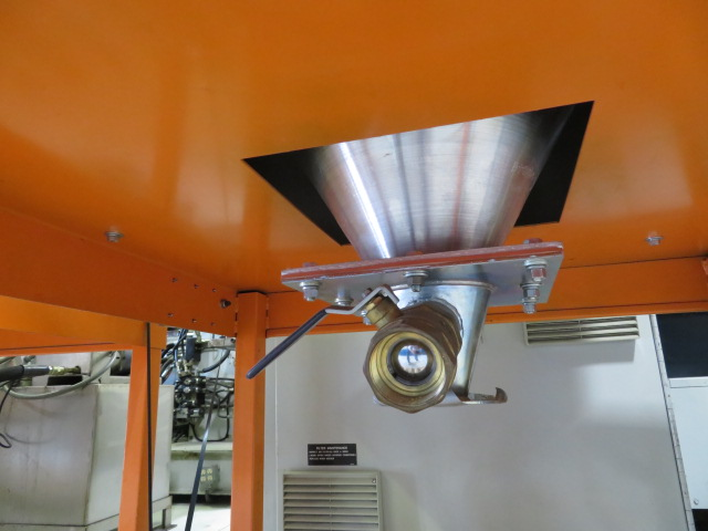 Motan Used Drying Hopper, Approx 300 lb Capacity, Stainless Steel, Insulated Hopper