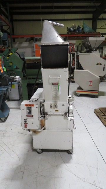 "Polymer 912SPL Used Portable Granulator, 10""x12"",  7.5hp, 460V"
