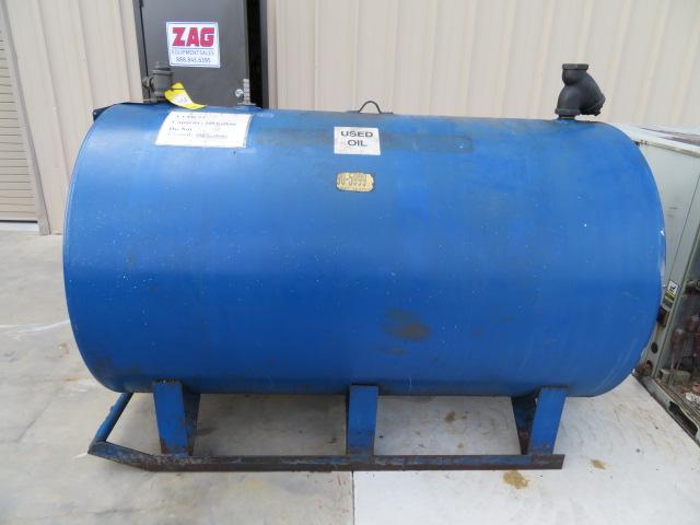 Used 500 gal Steel Oil Tank